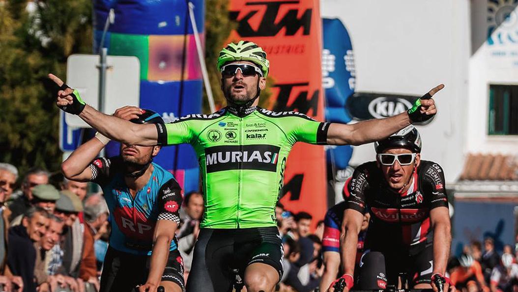 La région de l'Alentejo a servi de décor à la première victoire d'Enrique Sanz et de l'Euskadi-Murias en 2019