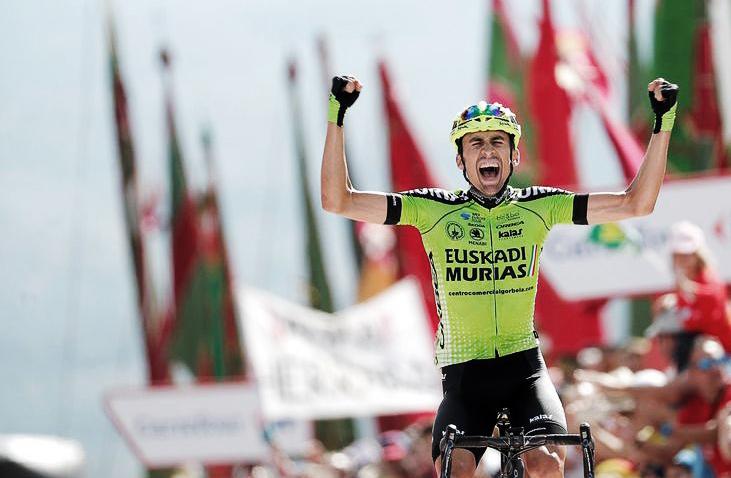 Victoire historique d'Oscar Rodríguez pour Murias-Euskadi dans la Vuelta